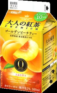 大人の紅茶PREMIUM ゴールデンピーチティー