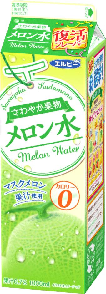 さわやか果物メロン水(カロリーゼロ)